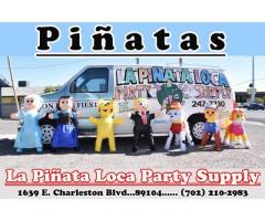 la piñata loca party supply and rentals